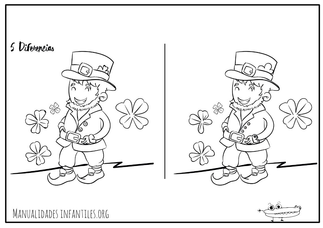 Excelente Duende Colorear Páginas St Patricks Day Imagen - Dibujos ...
